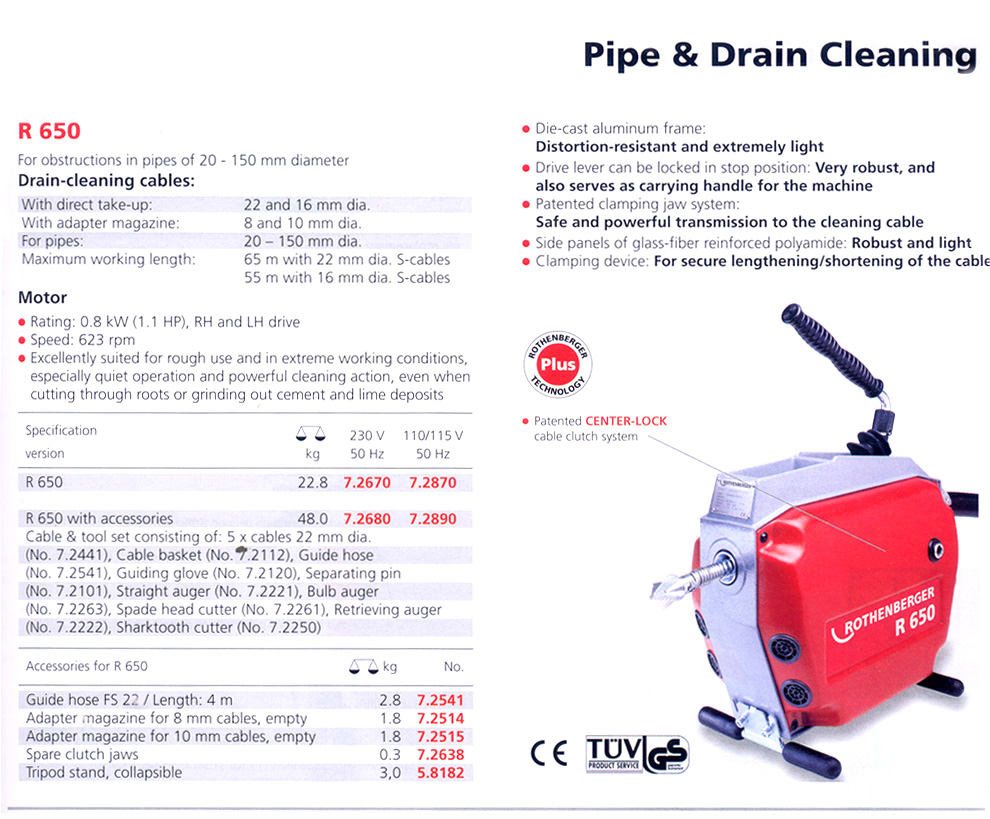 Pipe Cleaning Machines